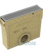 SELF Einlaufkasten NW 100 mit Kunststoffrost