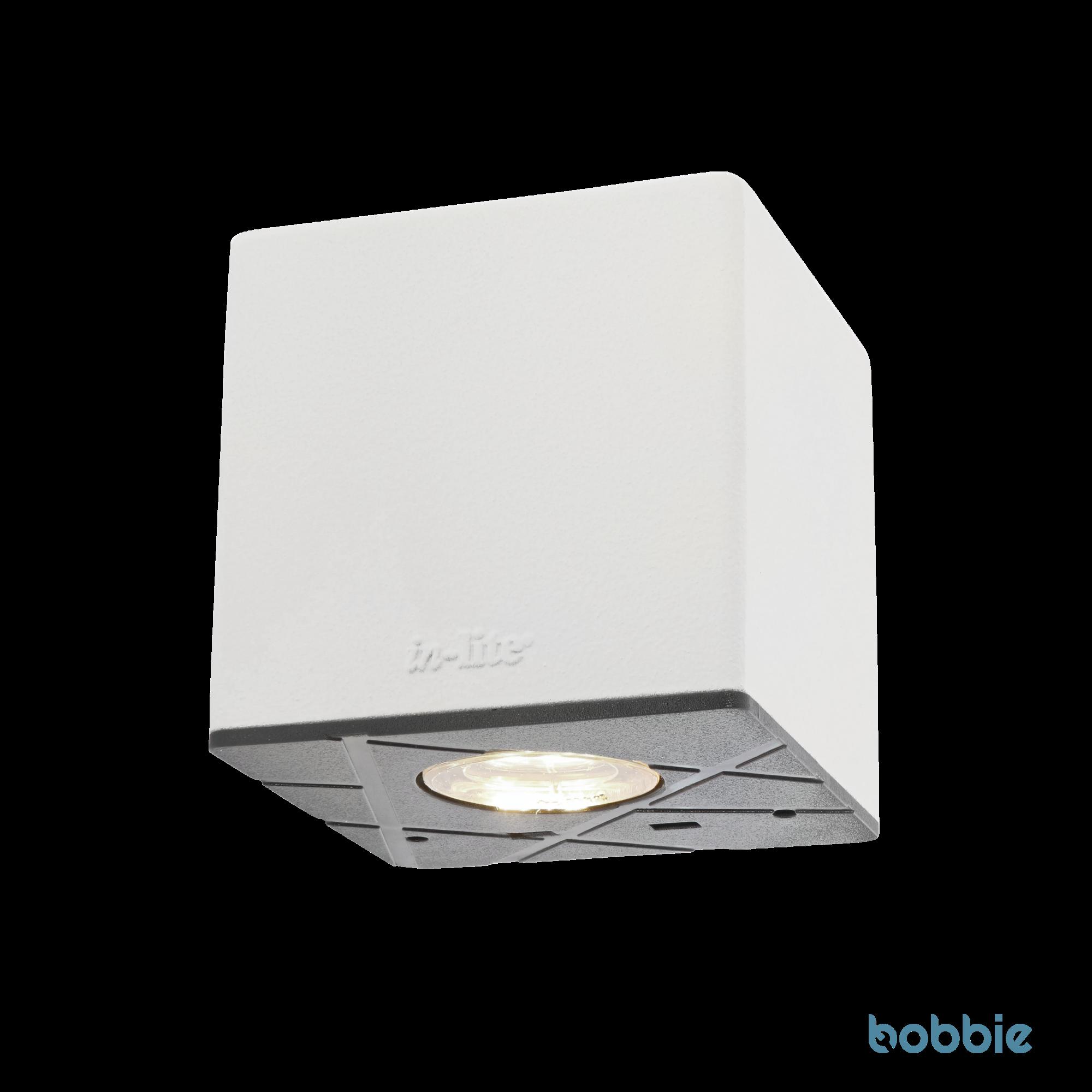 Wandlampe CUBID WHITE