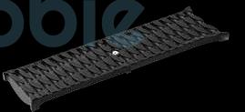 Abdeckrost Stegrost Kunststoff OvalGrip SW 8mm
