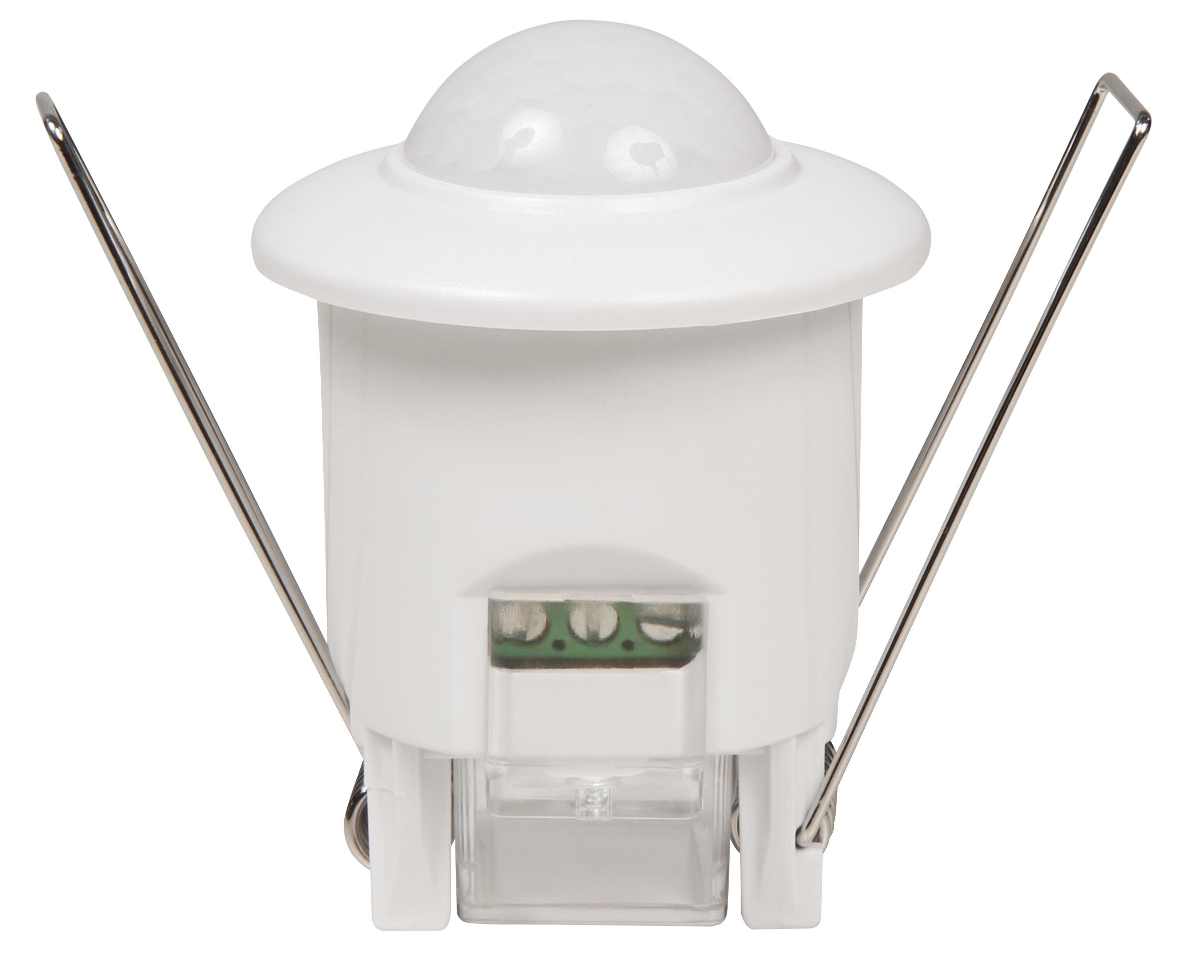 IR Bewegungsmelder McShine ''LX-680'', 360°, 800W, weiß, Unterputz, LED geeignet