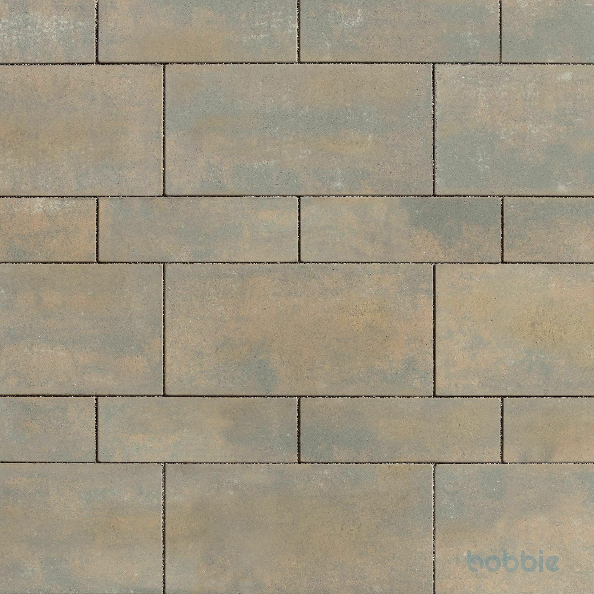 Pflasterplatte, SALSA® PLANLINE, 446x146x80, Corten-Schattiert