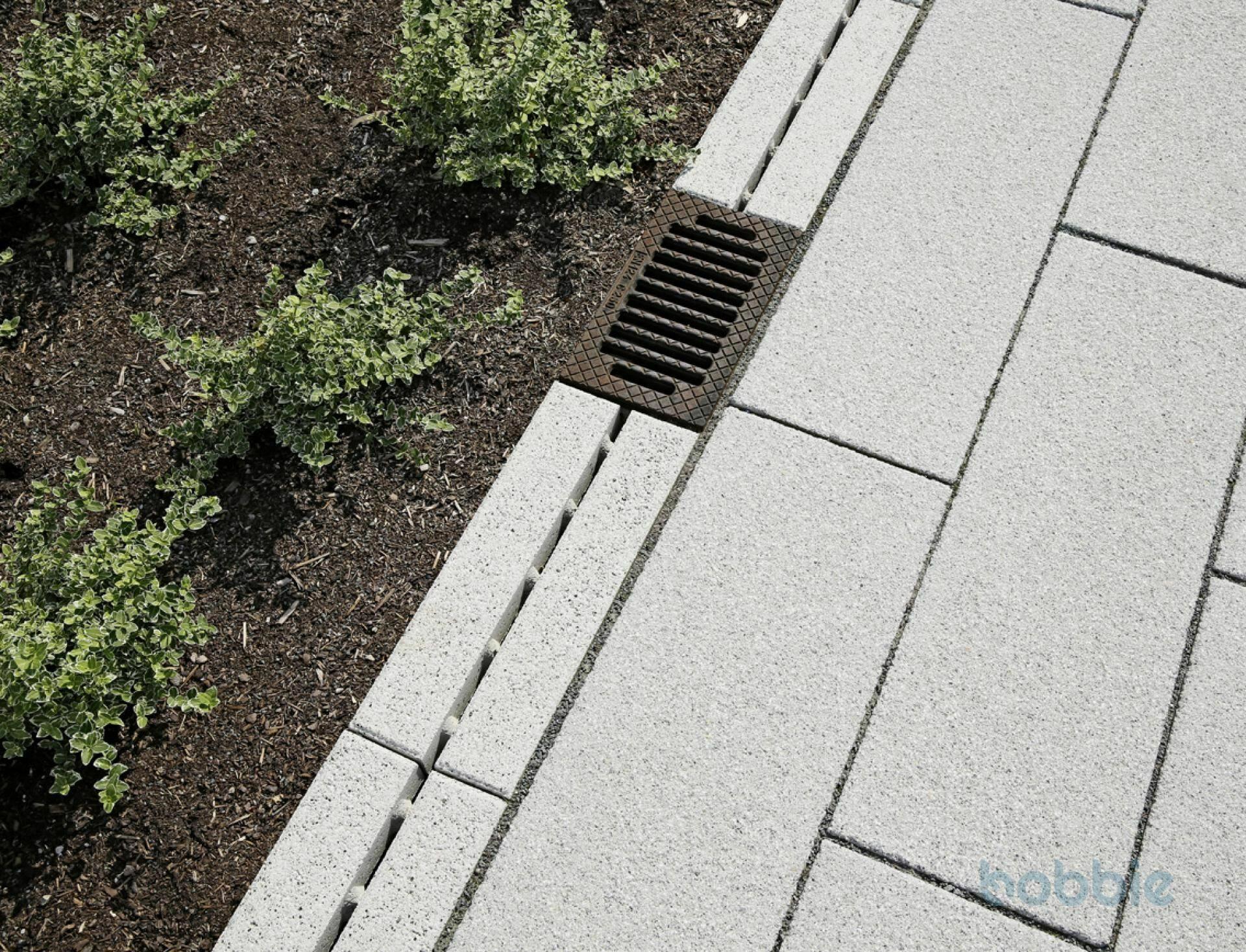 Entwässerung/Rinnen, AQUARENA® STABILO ENTWÄSSERUNGSRINNE, 498x200, Schiefergrau II