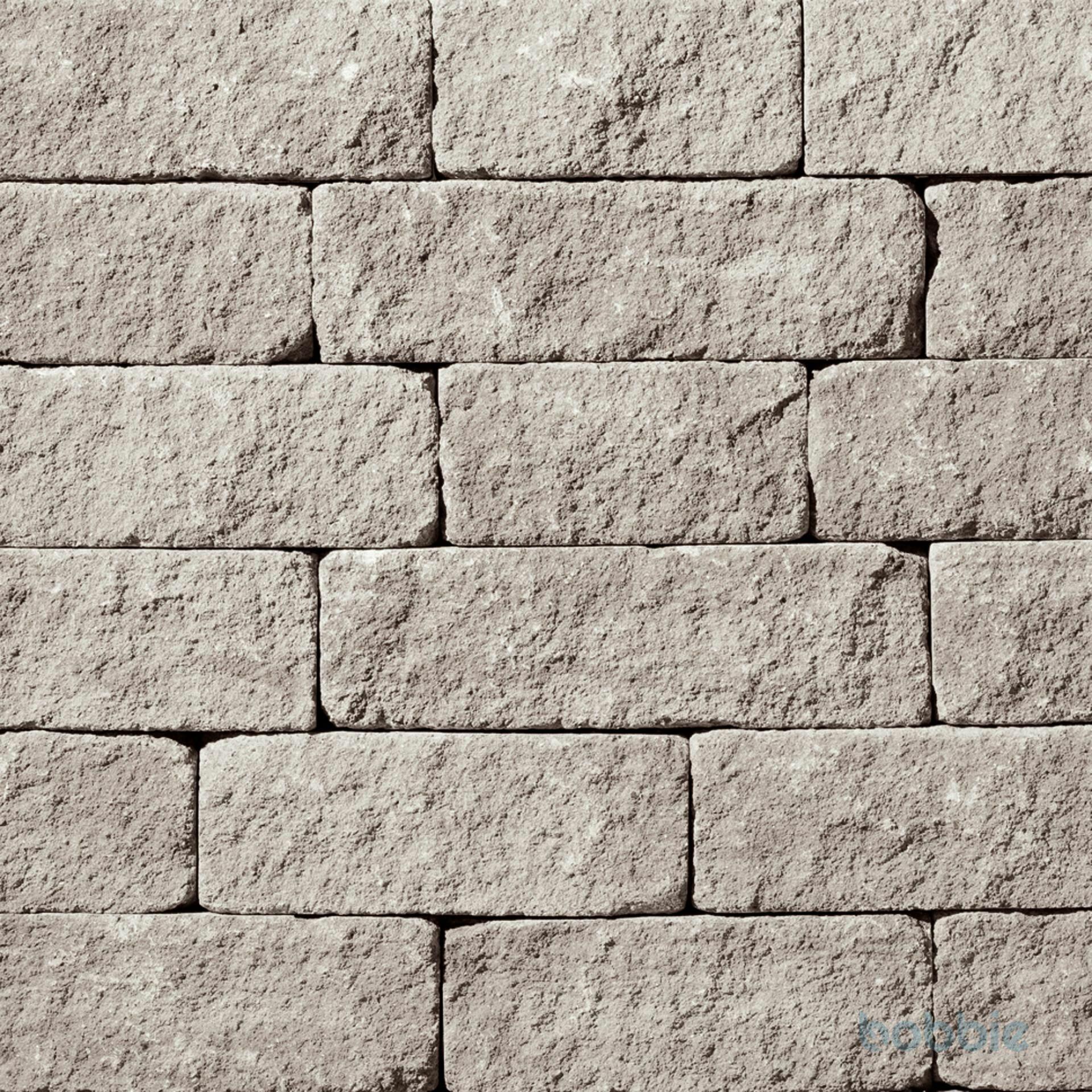 Mauern, SANTURO® LANDHAUSMAUER, Naturgrau
