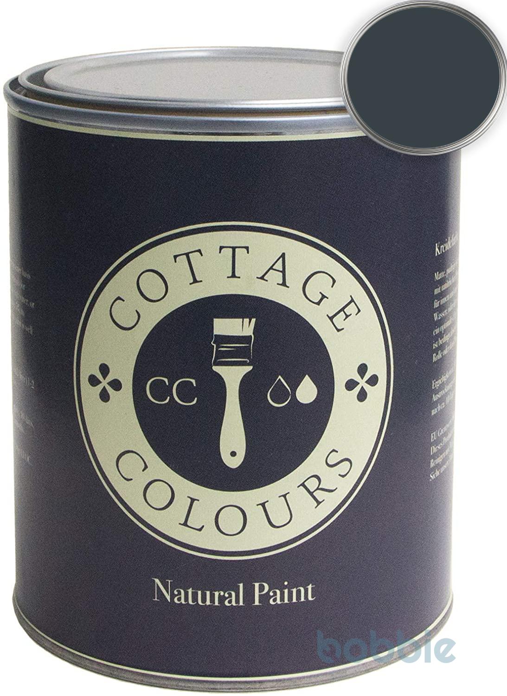 Farbe Dark-Blue Waterbased Top Matt 0,5 Liter