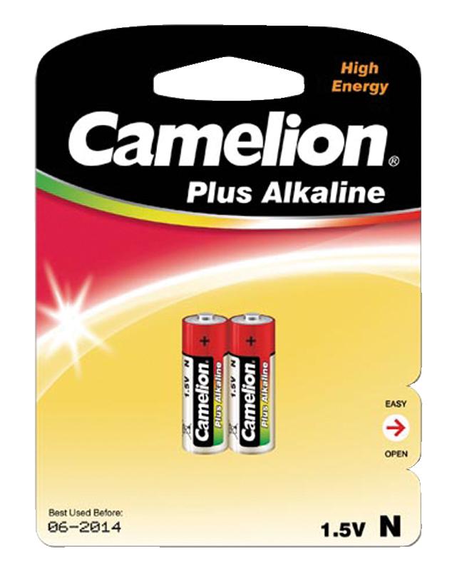 Lady-Batterie CAMELION Plus Alkaline, 1,5V, Typ LR1, 2er-Blister