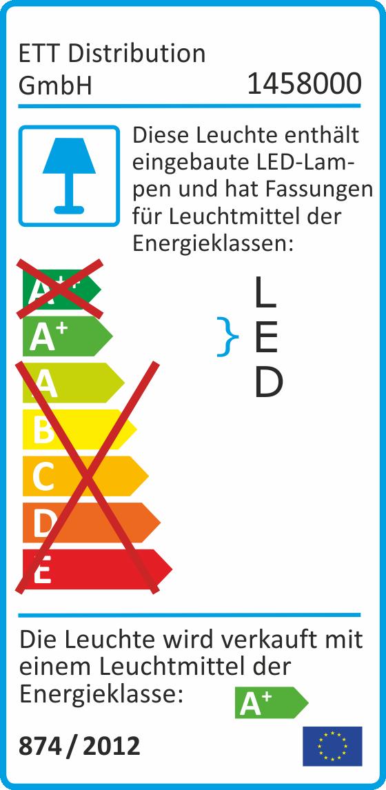 LED-Einbauleuchte McShine, 5W COB, 400lm, 3000K, Ø82mm, inkl. Fassung