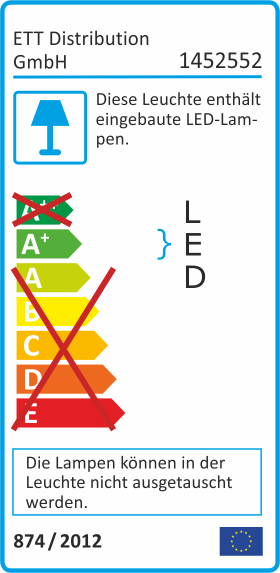 LED Feuchtraumleuchte McShine ''FL-41'', IP65, 1.600lm, 4000K, 70cm, neutralweiß