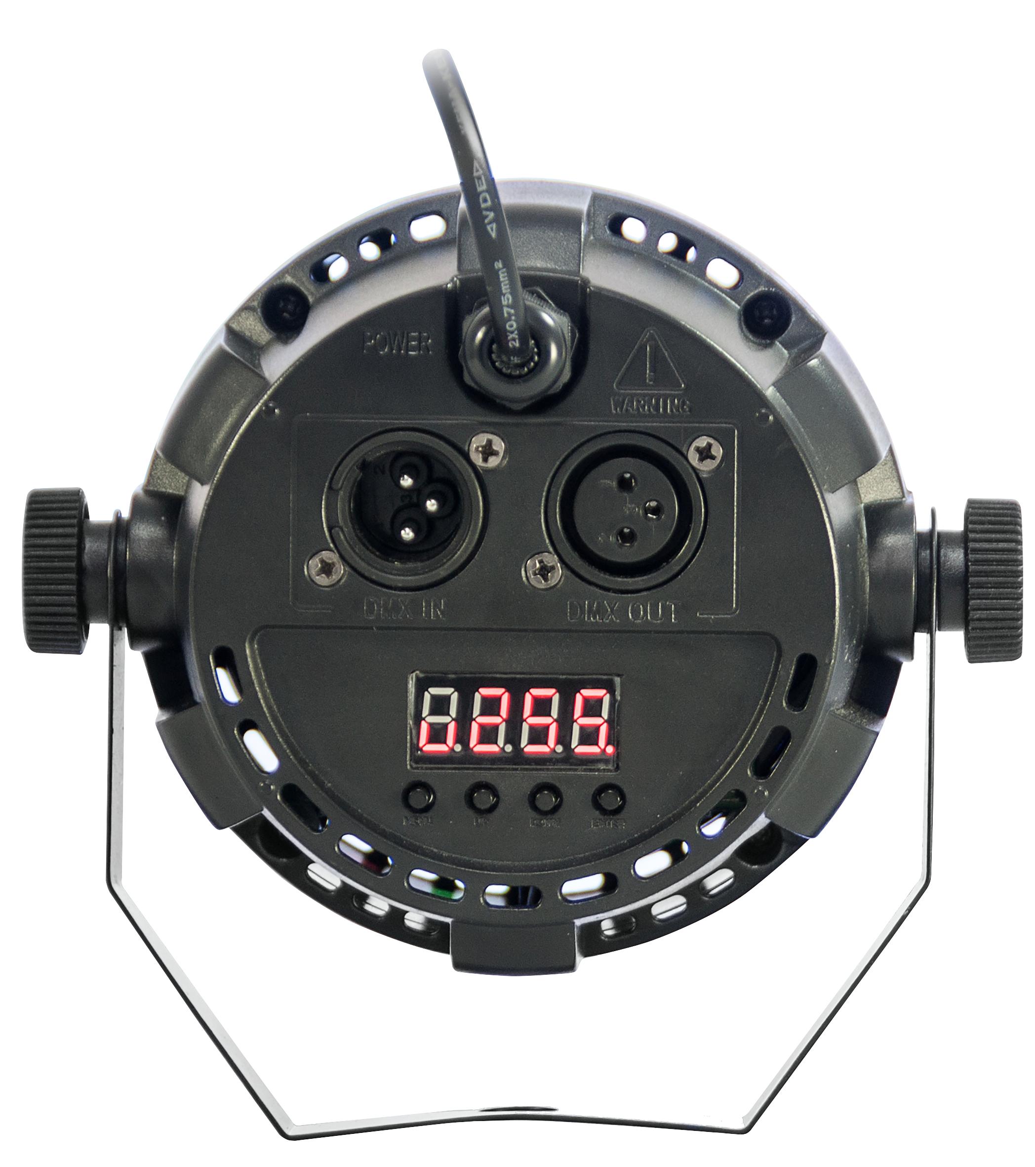 LED-Lichteffekt IBIZA ''PAR-ASTRO'' 2-in-1 PAR Strahler und Astro-Effekt, 12W