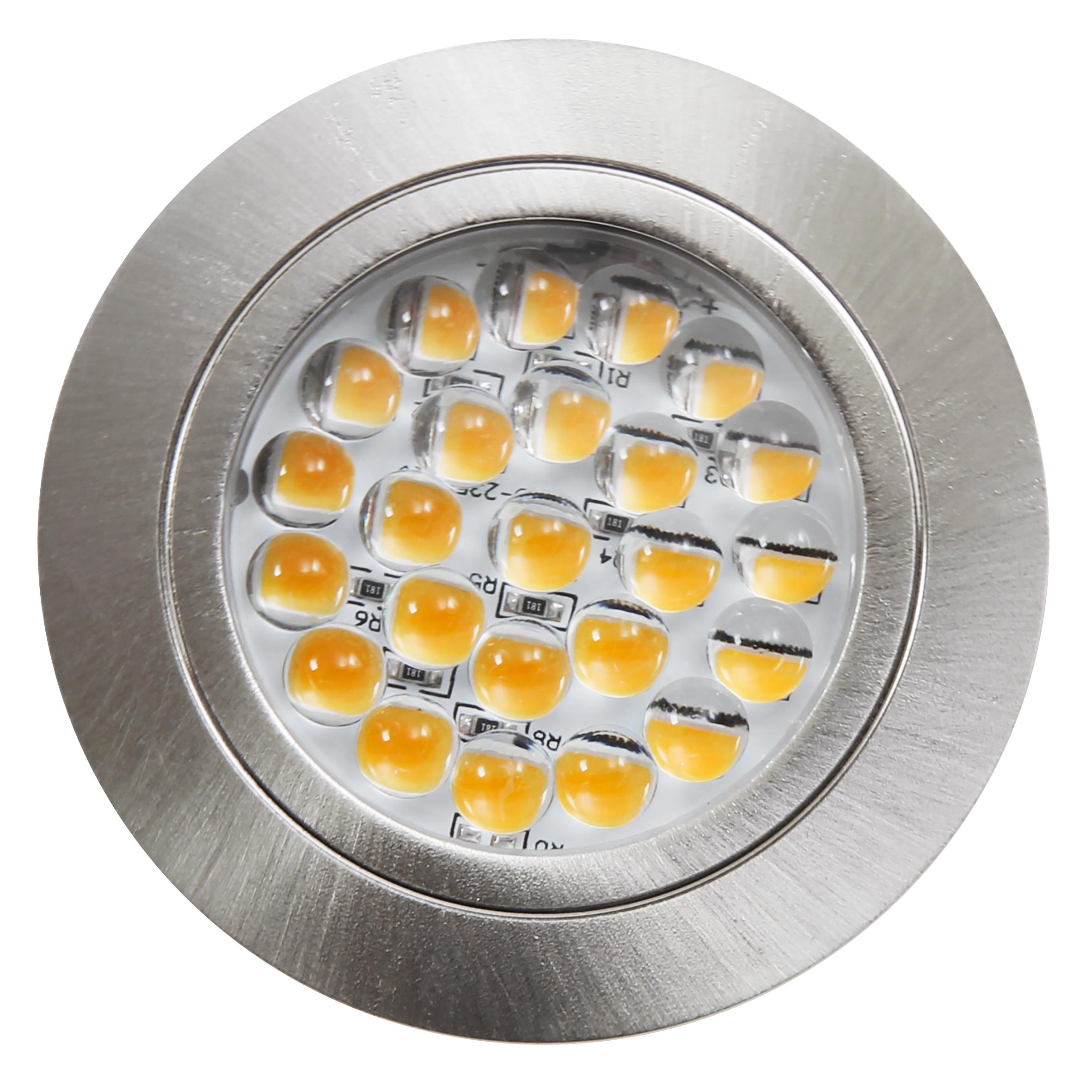 LED-Möbelleuchte McShine ''LM-24'' 2,4W, 190lm Ø65,5x10,7mm, neutralweiß