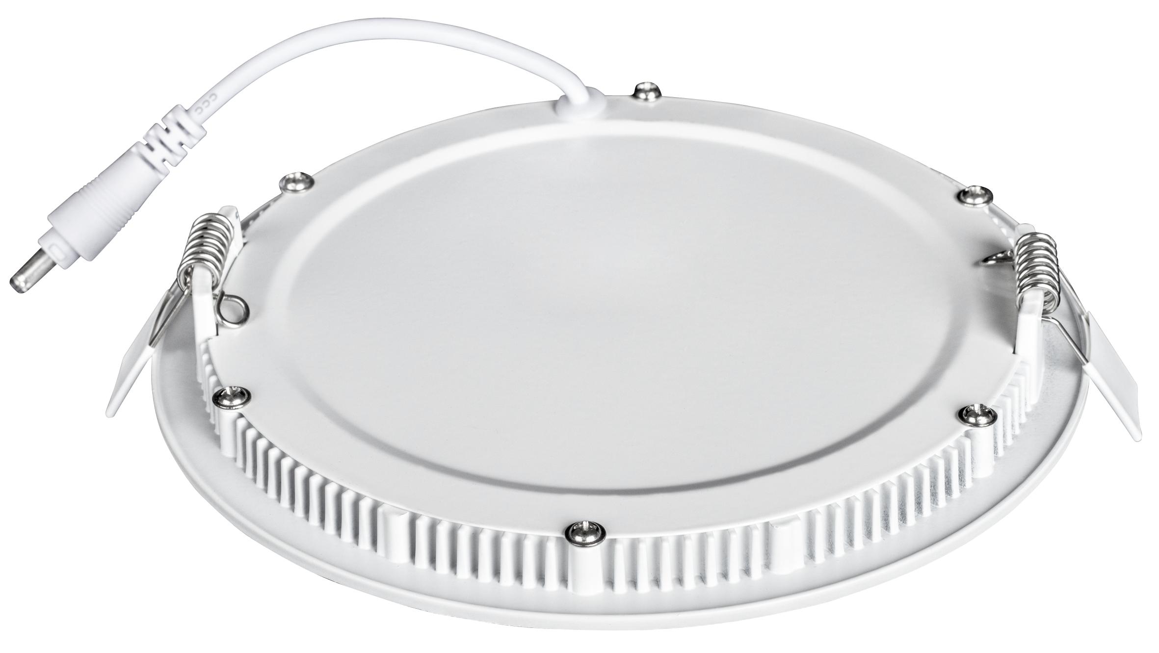 LED-Panel McShine ''LP-1822RW'', 18W, 225mm-Ø, 1.260 lm, 3000K, warmweiß
