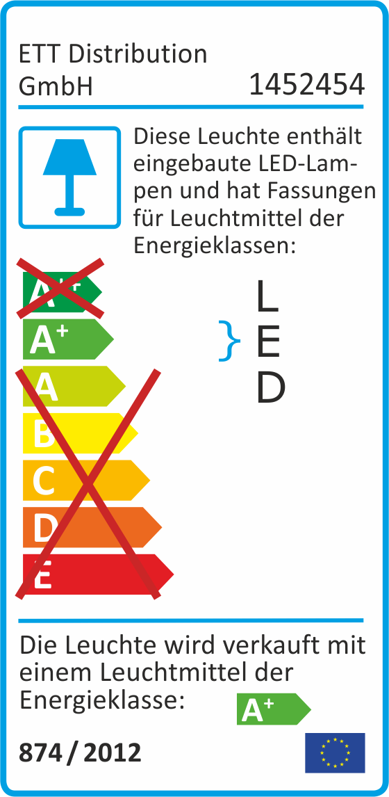 LED Renovierleuchte McShine, 12W, 1.050lm, 220°, 4000K, inkl. Aufhänger