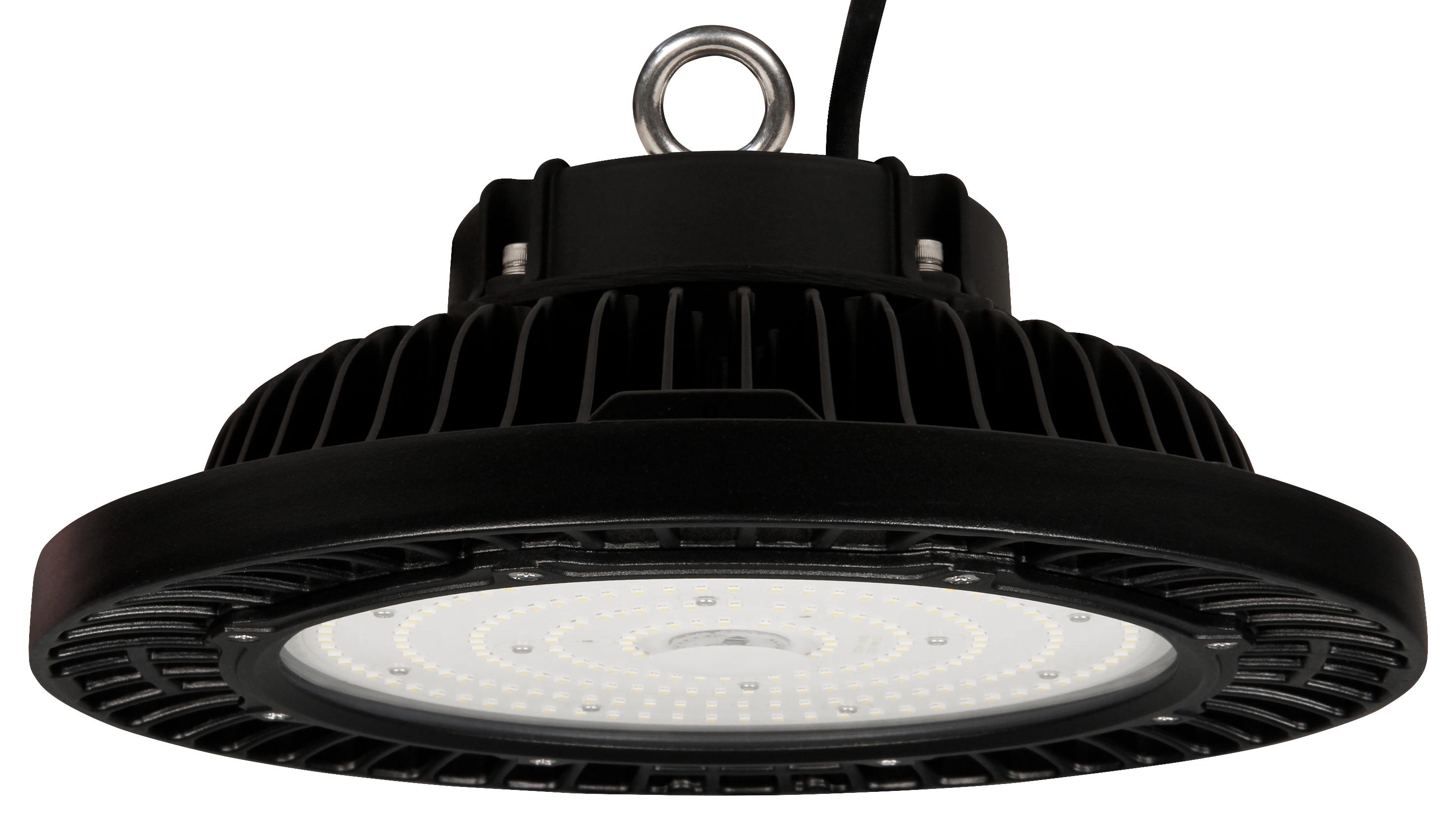 LED-UFO-Hallenstrahler McShine ''UFO-200'' 200W, 28.000lm, 4000K, IP66, 120°