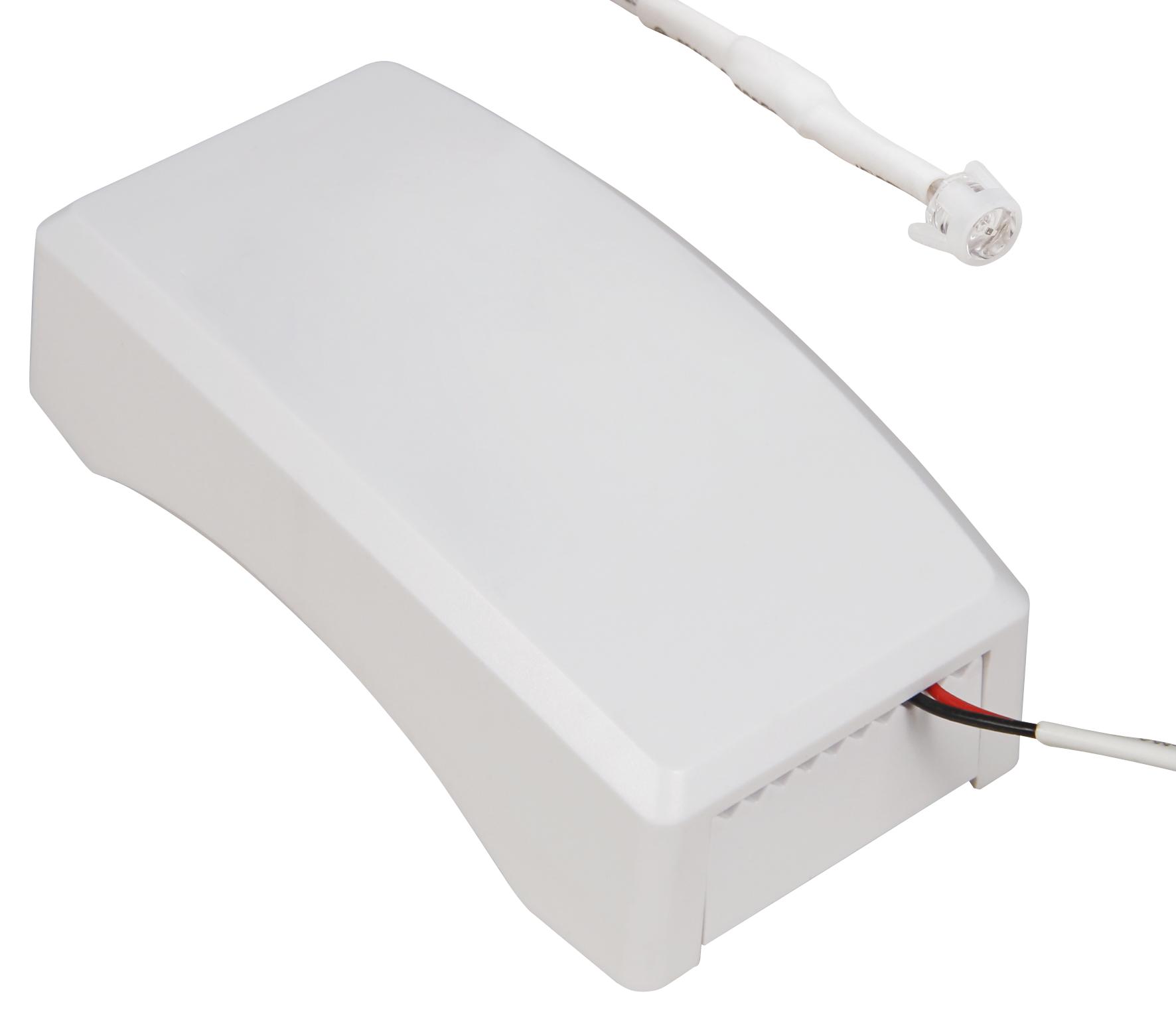 HF / Mikrowellen Einbau-Bewegungsmelder McShine ''LX-653'', 360°, 1200W, LED geeignet