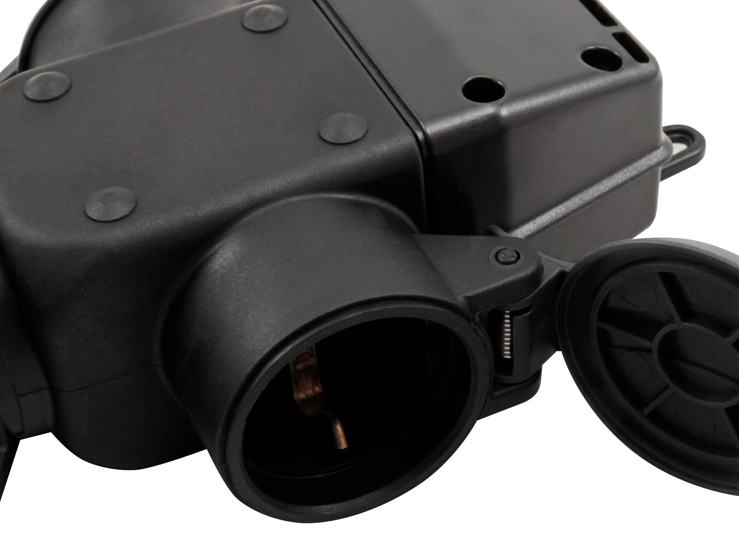Schutzkontakt-Verteiler McPower, 3-fach, IP44 - für Außen, 16A