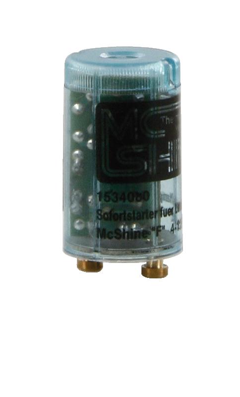 Sofortstarter für Leuchtstofflampen McShine ''Flink'', 4-125 Watt