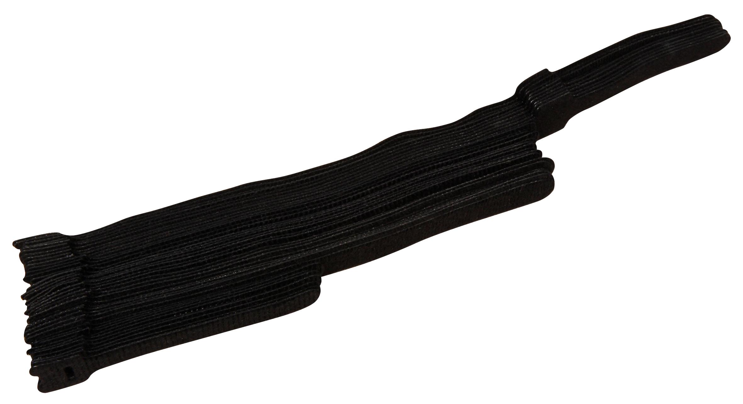 Wiederverwendbare Kabelbinder McPower, mit Klett, drei Größen, 40er-Beutel