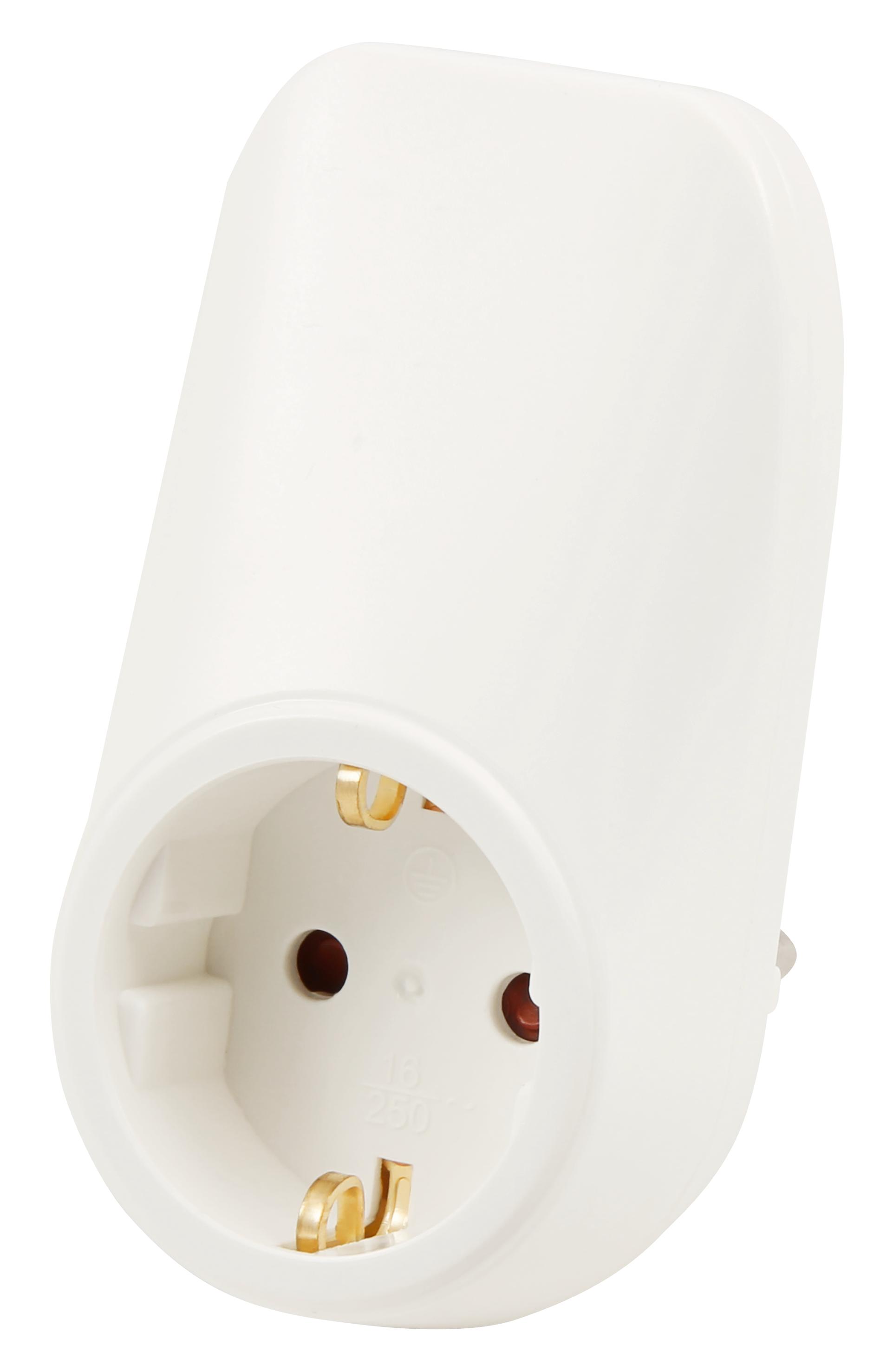 Zwischenstecker McPower, mit 2x USB, 5V max 2,1A, Steckdose 230V/16A