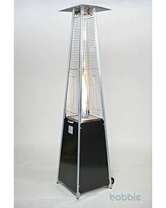 Flame Heater Eiffel Black