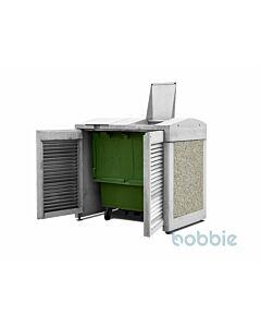 Müllbehälterbox Godo e Pedra Lavada