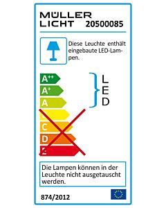 LED Deckenleuchte, 1600lm,3000K,25W,warmweiß,IP44, 280x280x51mm, Bewegungsmelder