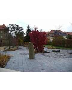 "Gartenplatten ""gespalten"""