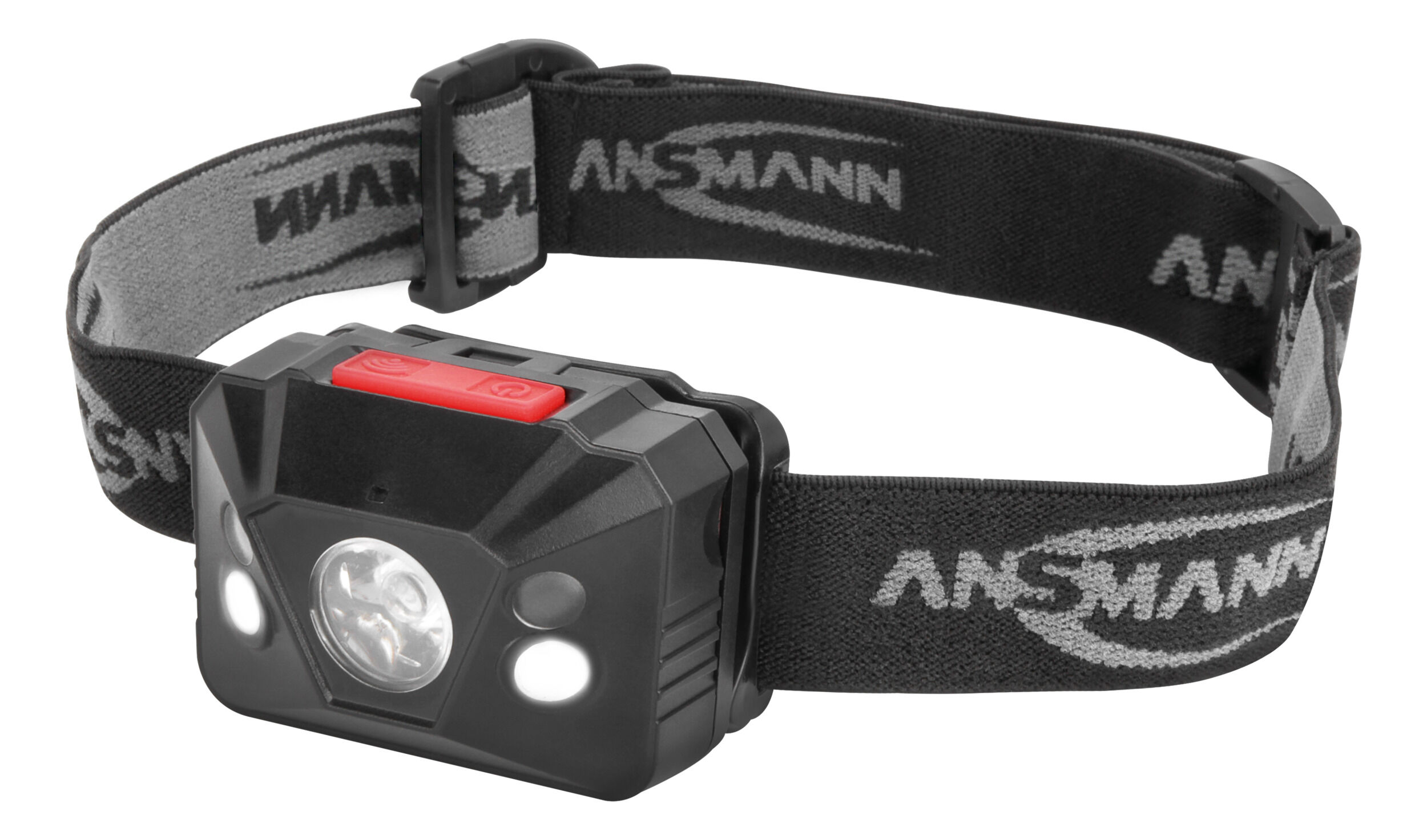 ANSMANN LED Stirnlampe – Gestensteuerung On/Off, LED für Fern und Nahbereich