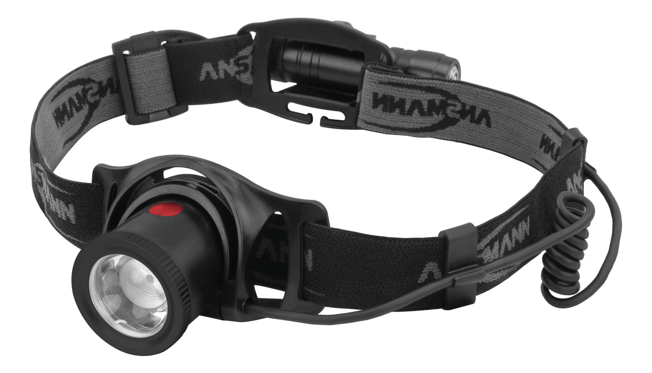 ANSMANN LED Kopflampe inkl. 18650 Li-Ion Akku 550 Lumen - Stirnlampe HD500R
