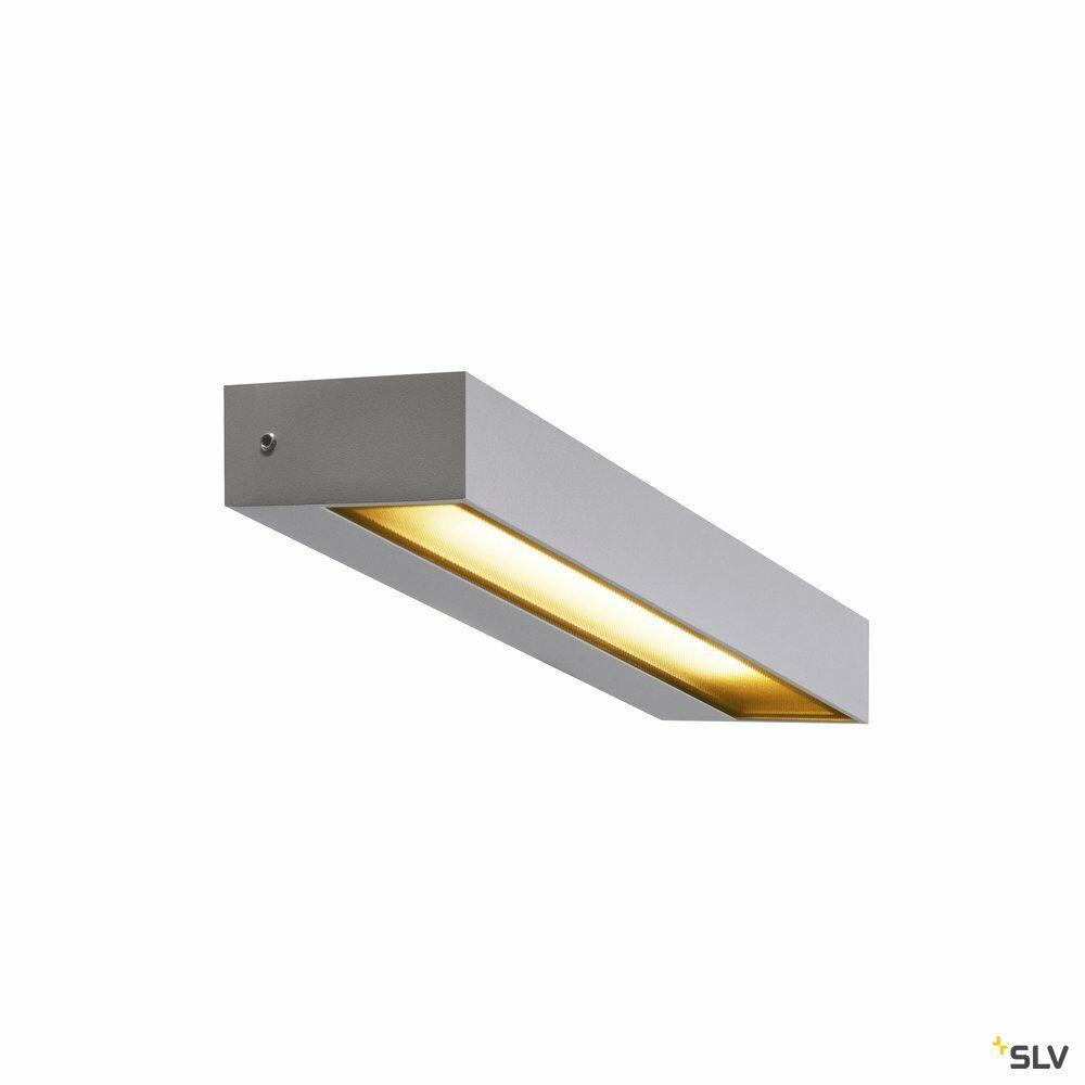 PEMA® WL, LED Outdoor Wandaufbauleuchte, IP54, silber, 3000K