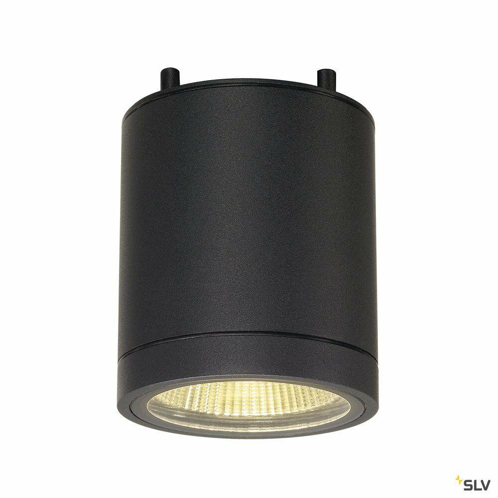 ENOLA_C CL, LED Outdoor Deckenaufbauleuchte, anthrazit, IP55, 2000-3000K