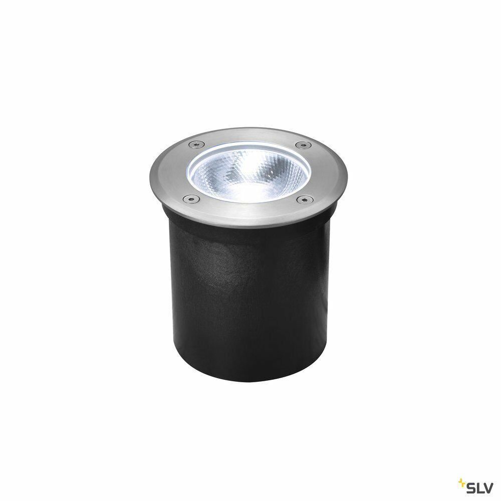 ROCCI rund, Outdoor LED Bodeneinbauleuchte, Edelstahl 316, 4000K, IP67, 8,6W