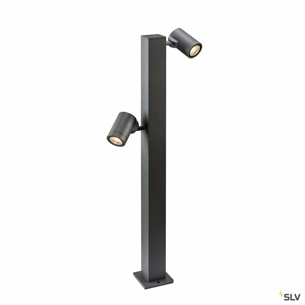 HELIA Double Pole, LED Outdoor Stehleuchte, anthrazit IP55 3000K