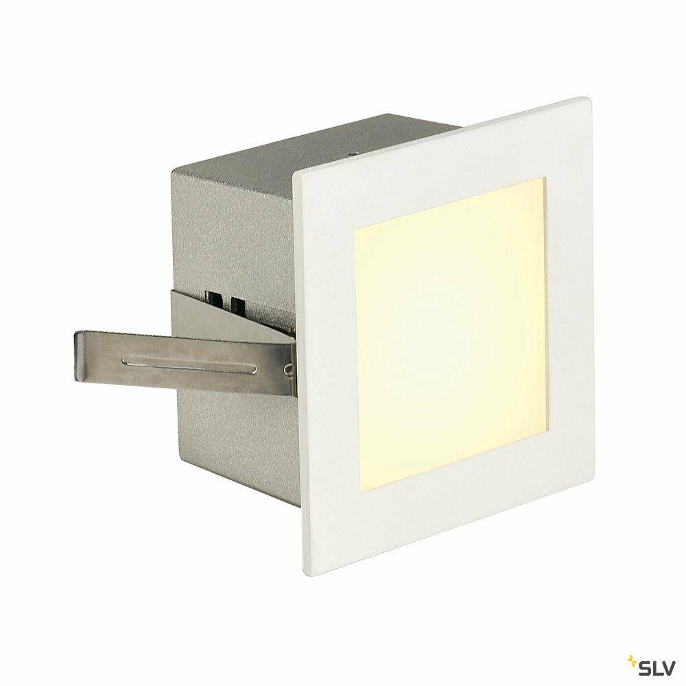 FRAME BASIC, Einbauleuchte, LED, 3000K, eckig, weiß matt, inkl. Blattfedern