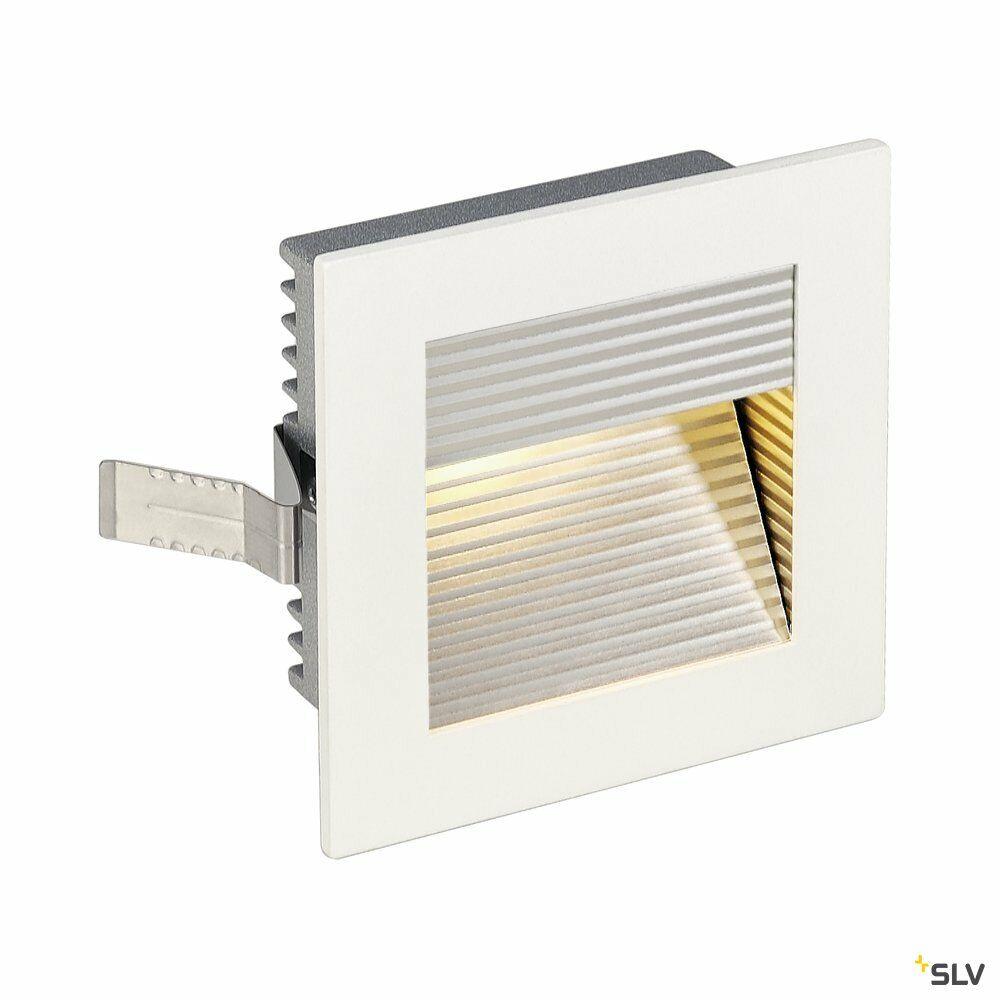 FRAME CURVE, Einbauleuchte, LED, 3000K, eckig, weiß matt, inkl. Blattfedern