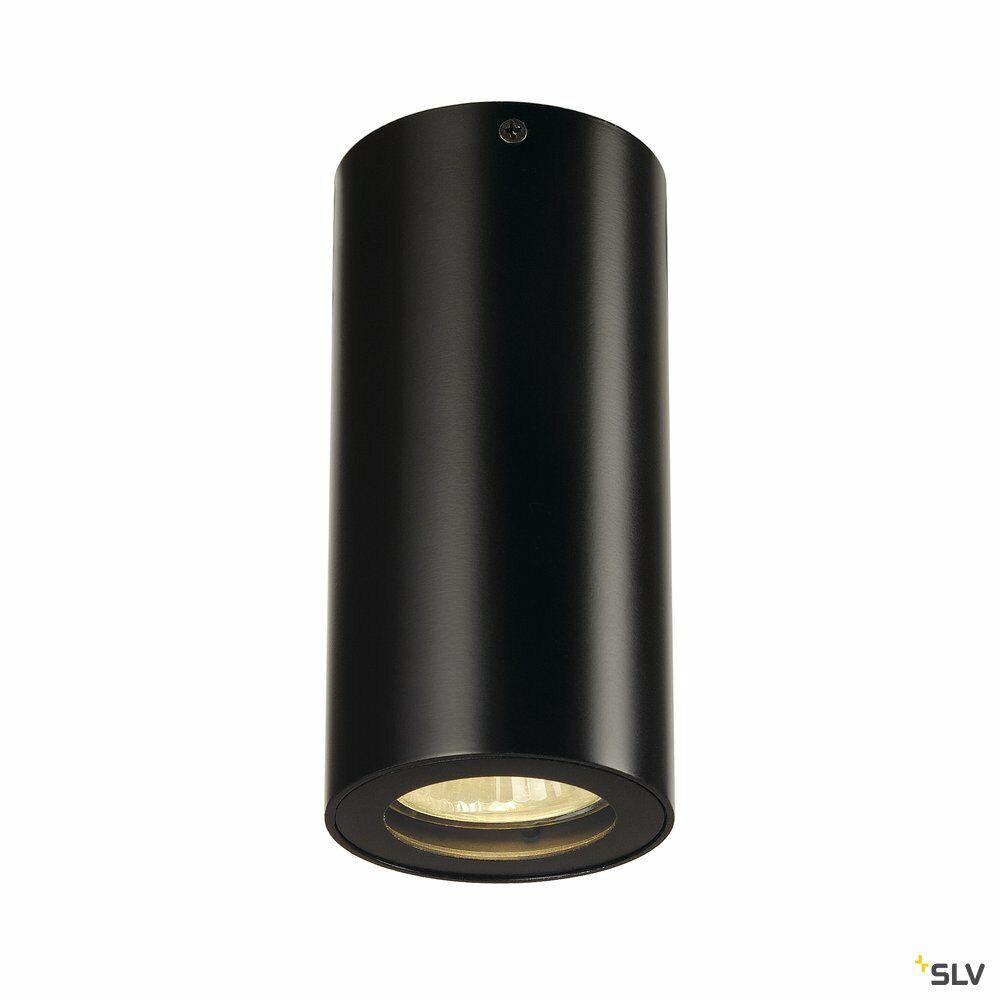 ENOLA_B CL-1, Deckenleuchte, QPAR51, rund, schwarz, max. 35 W