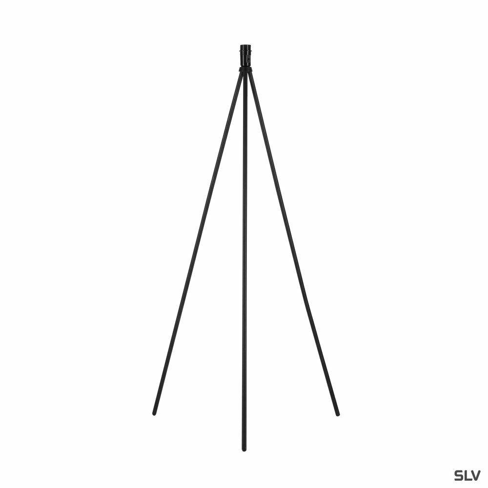FENDA, Standleuchte, A60, schwarz, ohne Schirm, max. 40W