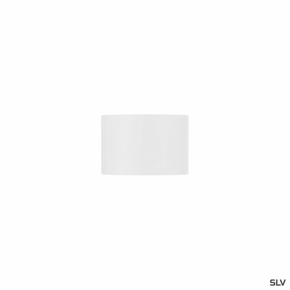 FENDA, Leuchtenschirm, rund, weiß, Ø/H 30/20 cm