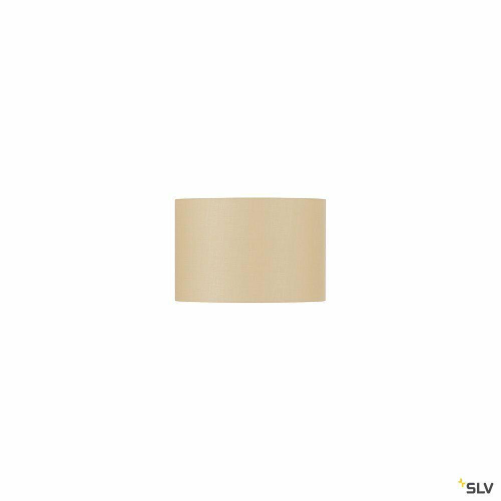FENDA, Leuchtenschirm, rund, beige, Ø/H 30/20 cm