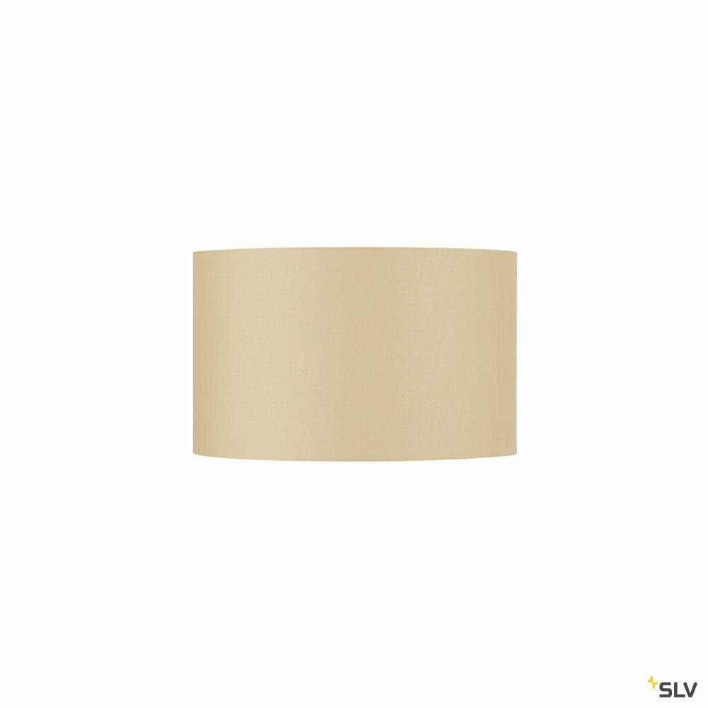 FENDA, Leuchtenschirm, rund, beige, Ø/H 45,5/28 cm