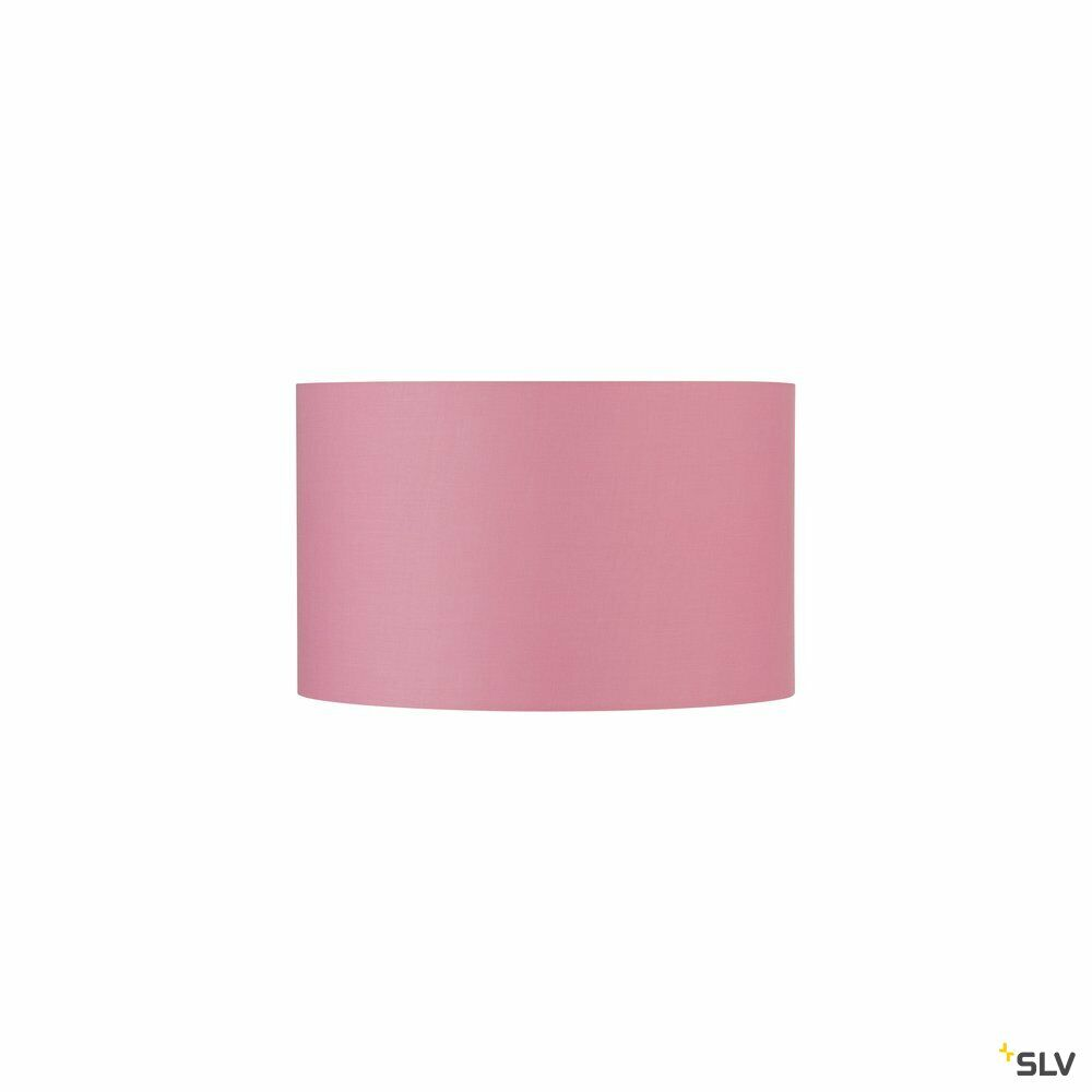 FENDA, Leuchtenschirm, rund, pink, Ø/H 45,5/28 cm