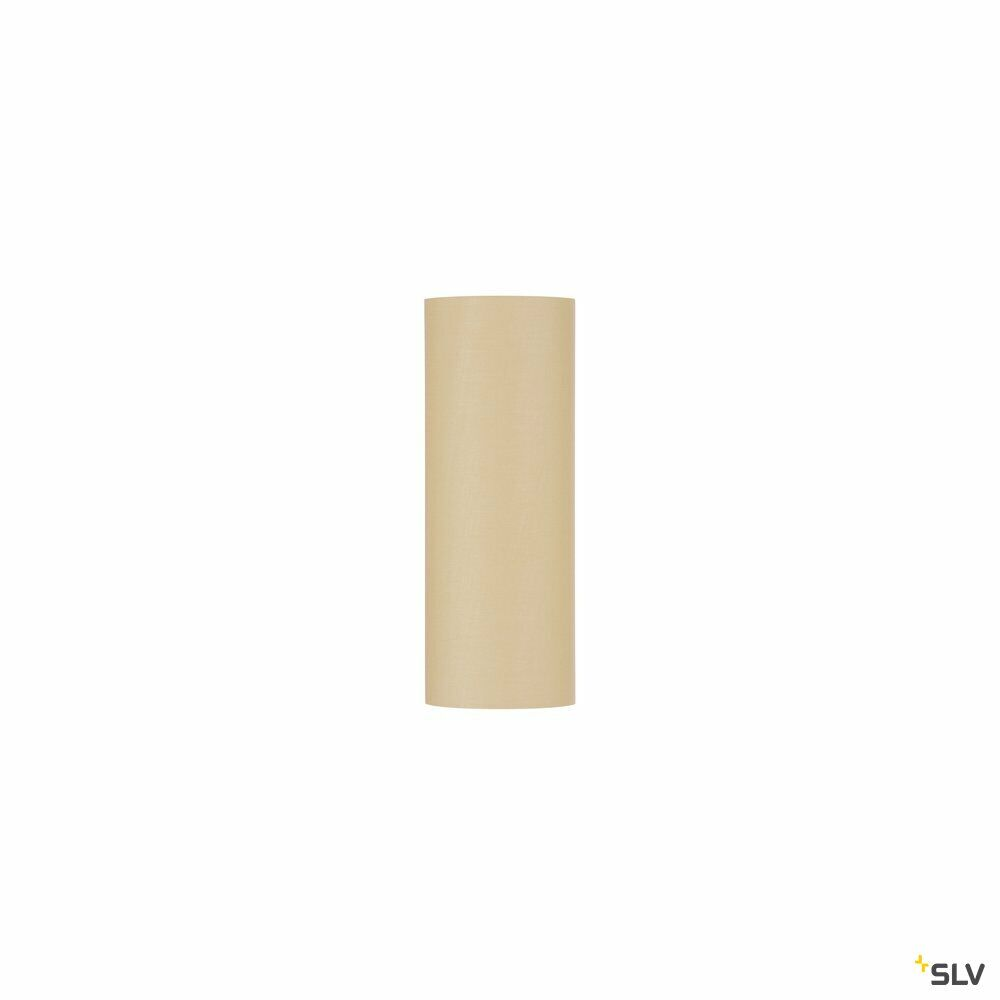 FENDA, Leuchtenschirm, rund, beige, Ø/H 15/40 cm