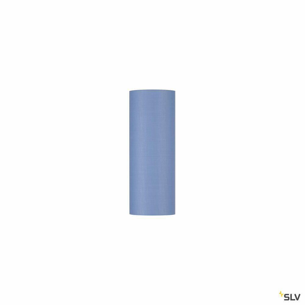 FENDA, Leuchtenschirm, rund, blau, Ø/H 15/40 cm