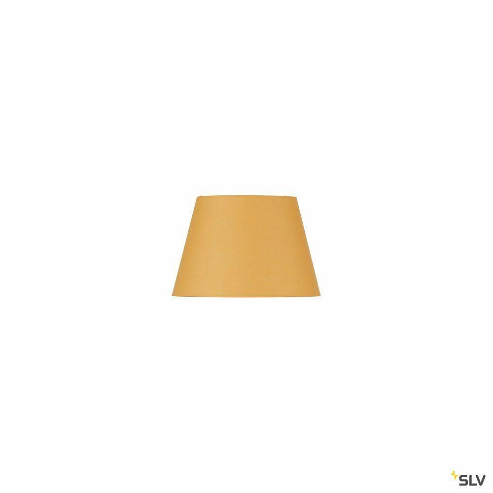 FENDA, Leuchtenschirm, konisch, gelb, Ø/H 30/20 cm