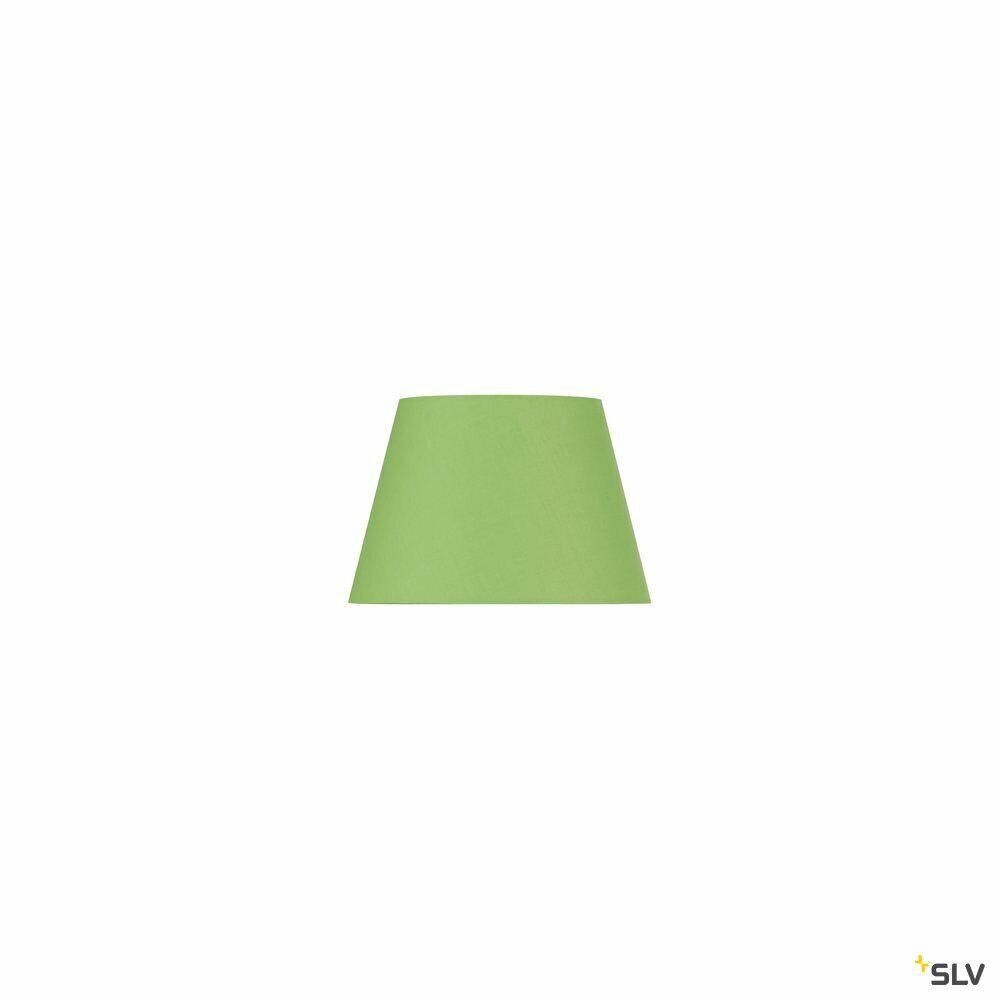 FENDA, Leuchtenschirm, konisch, grün, Ø/H 30/20 cm