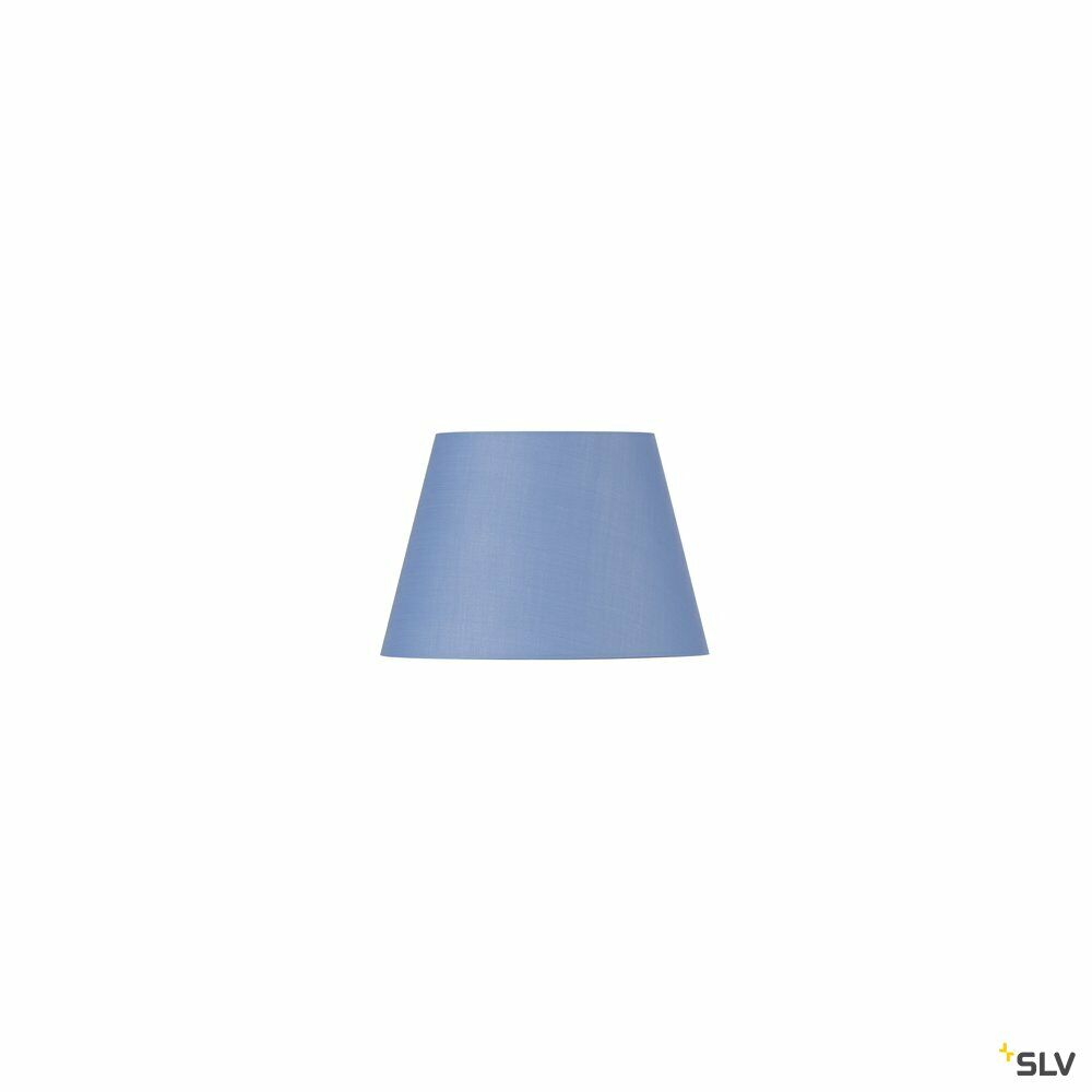 FENDA, Leuchtenschirm, konisch, blau, Ø/H 30/20 cm