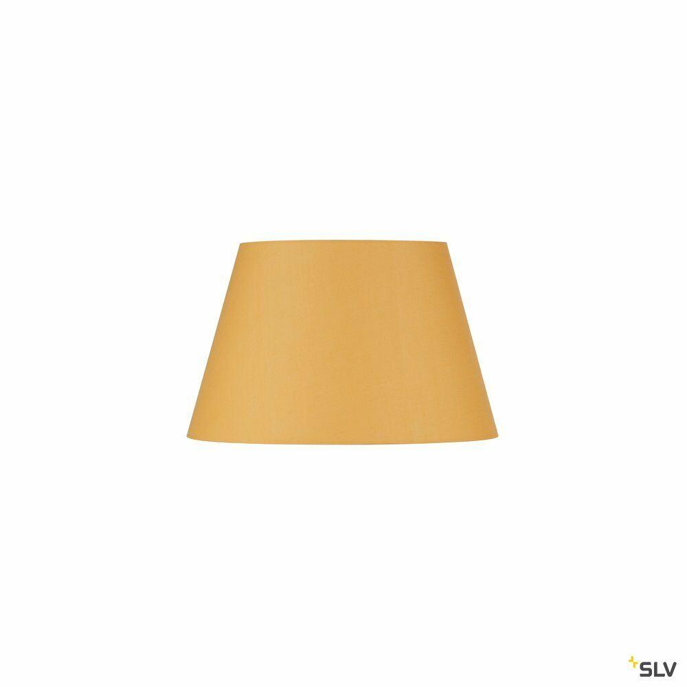 FENDA, Leuchtenschirm, konisch, gelb, Ø/H 45,5/28 cm
