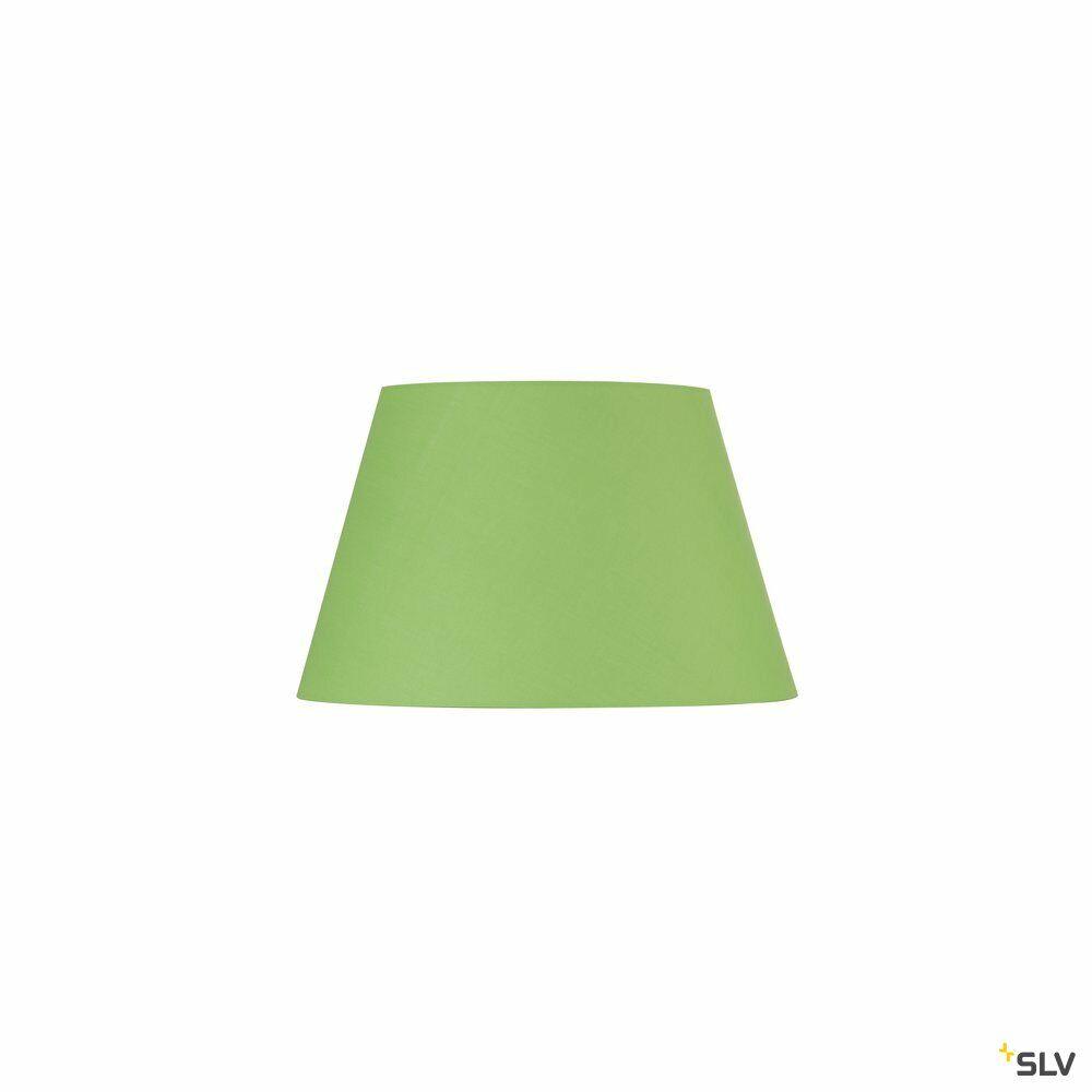 FENDA, Leuchtenschirm, konisch, grün, Ø/H 45,5/28 cm