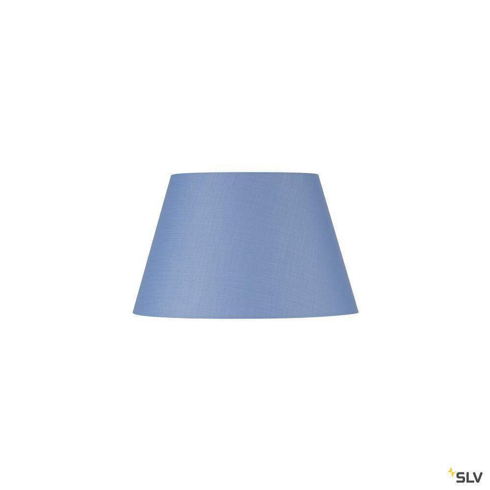 FENDA, Leuchtenschirm, konisch, blau, Ø/H 45,5/28 cm