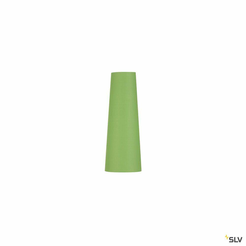 FENDA, Leuchtenschirm, konisch, grün, Ø/H 15/40 cm