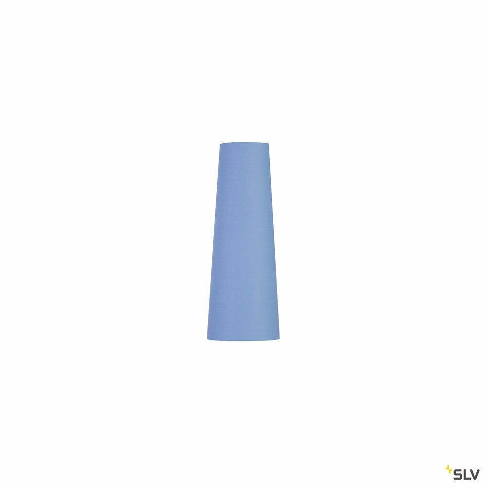 FENDA, Leuchtenschirm, konisch, blau, Ø/H 15/40 cm