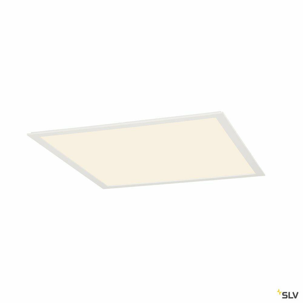 LED PANEL, Deckenein- und aufbauleuchte, 2700K, eckig, weiß matt, L/B/H 59,5/59,5/1,5 cm, 39,5W